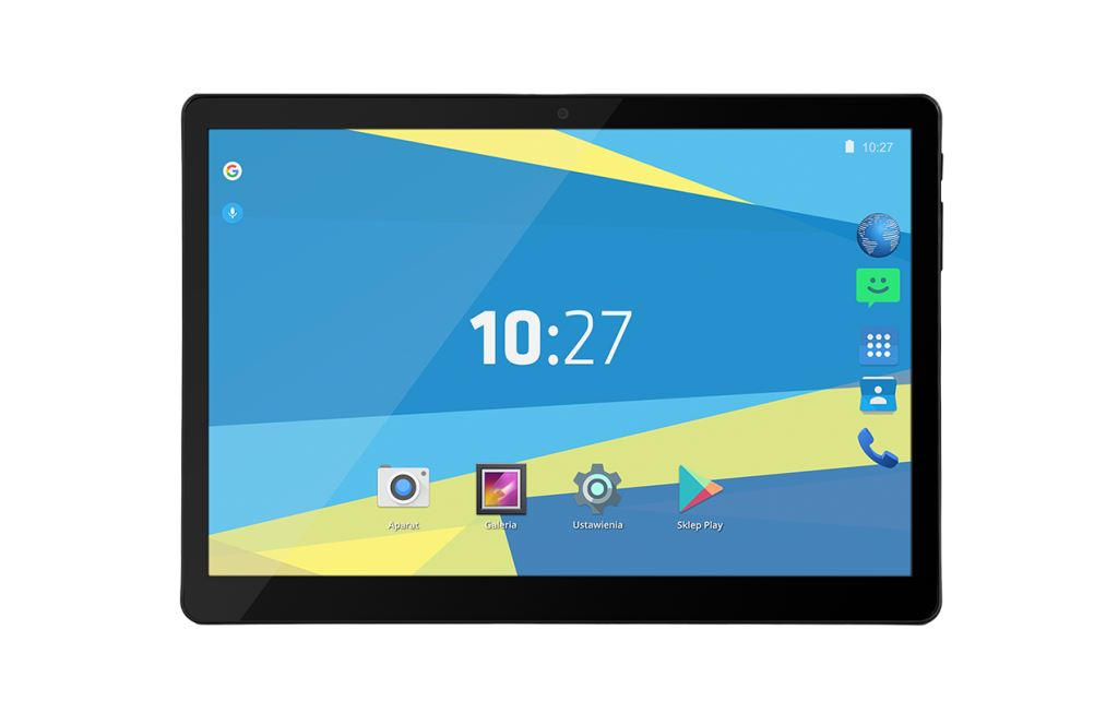 """Overmax Qualcore 1027 3G 10.1"""" Tablet 16GB Android 6.0 fekete"""