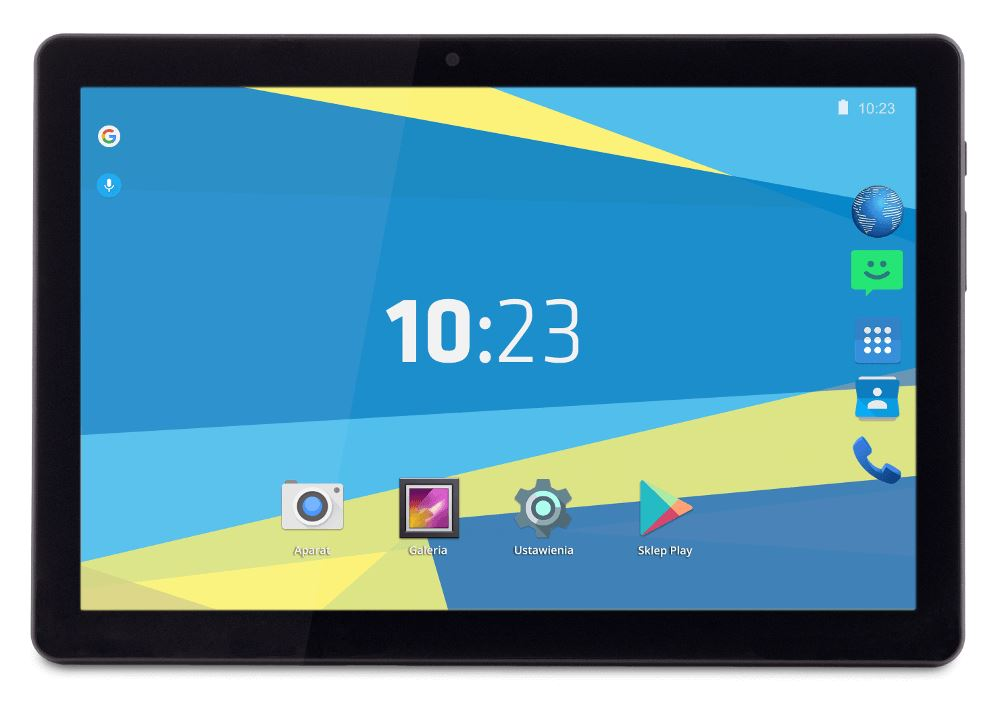 """Overmax Qualcore 1027 4g 10.1"""" Tablet 16GB Android 6.0 fekete"""