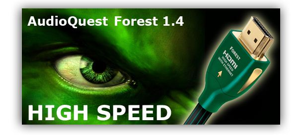 AUDIOQUEST Forest 2.0 HDMI kábel (0.6m)