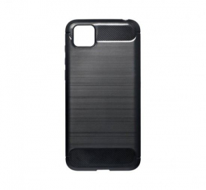 Forcell Carbon Huawei Y5p hátlaptok fekete (49405)