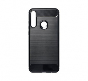 Forcell Carbon Huawei Y6p hátlaptok fekete (49406)