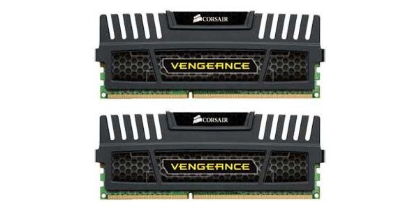 16GB 1600MHz DDR3 RAM Corsair Vengeance Kit (CMZ16GX3M2A1600C10) (2X8GB)