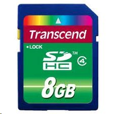 8GB SDHC Transcend CL4 (TS8GSDHC4)