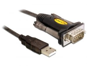 Delock DL61856 USB-ről soros port adapter