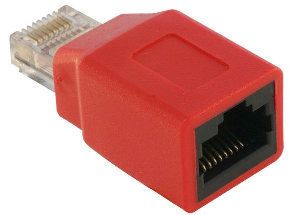 Delock DL65025 RJ45 Crossover adapter male - female