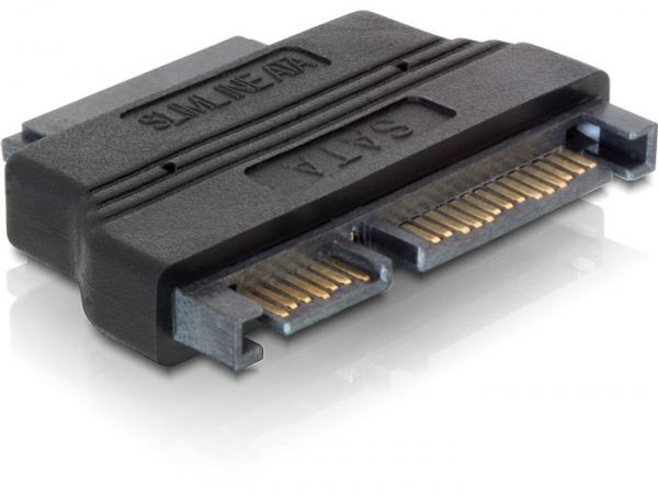 Delock DL65156 SATA 22 pin male -> Slim SATA female 13 pin adapter
