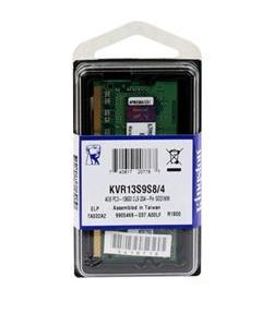 4GB 1333MHz DDR3 Notebook RAM Kingston (KVR13S9S8/4) CL9
