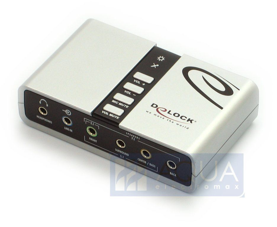 DeLock DL61803 Sound box 7.1 USB