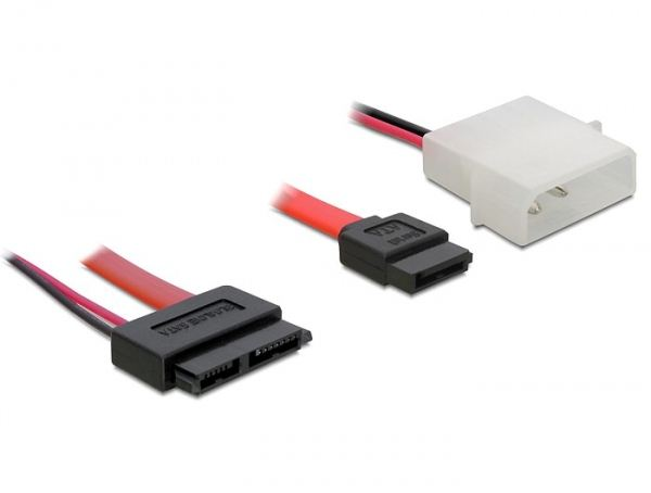 DeLock DL84390 Cable SATA Slimline female + 2pin power to SATA