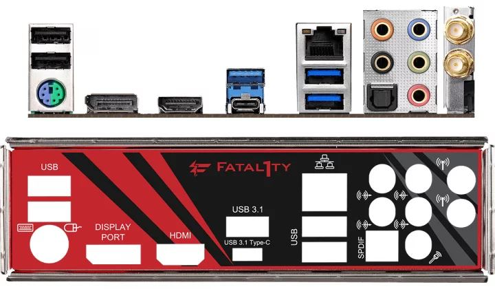 Asrock Fatal1ty X470 Gaming-ITX/ac alaplap