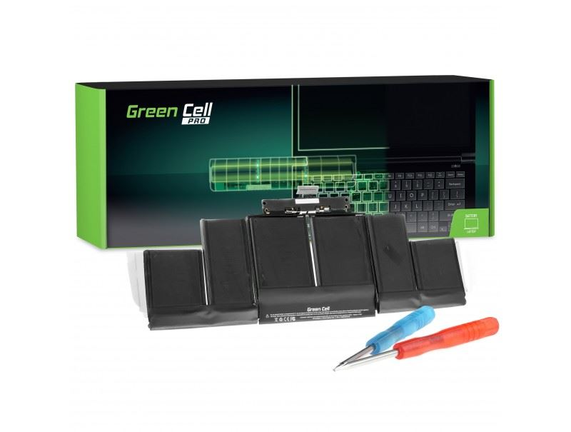 Green Cell akkumulátor A1494 Apple MacBook Pro 15 A1398 (Late 2013, Mid 2014) 11.26V 95Wh (AP22PRO)