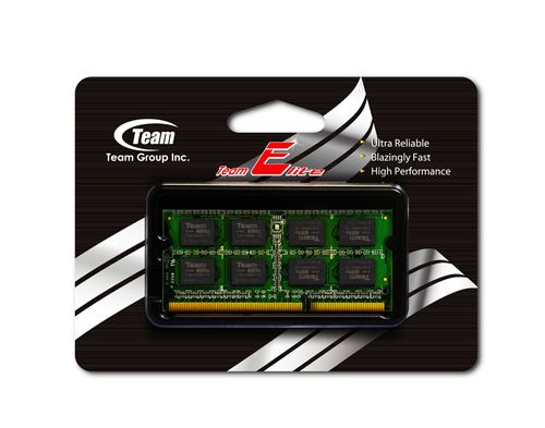 4GB 1333MHz DDR 3 Notebook RAM Team (TED34G1333C9-S01)