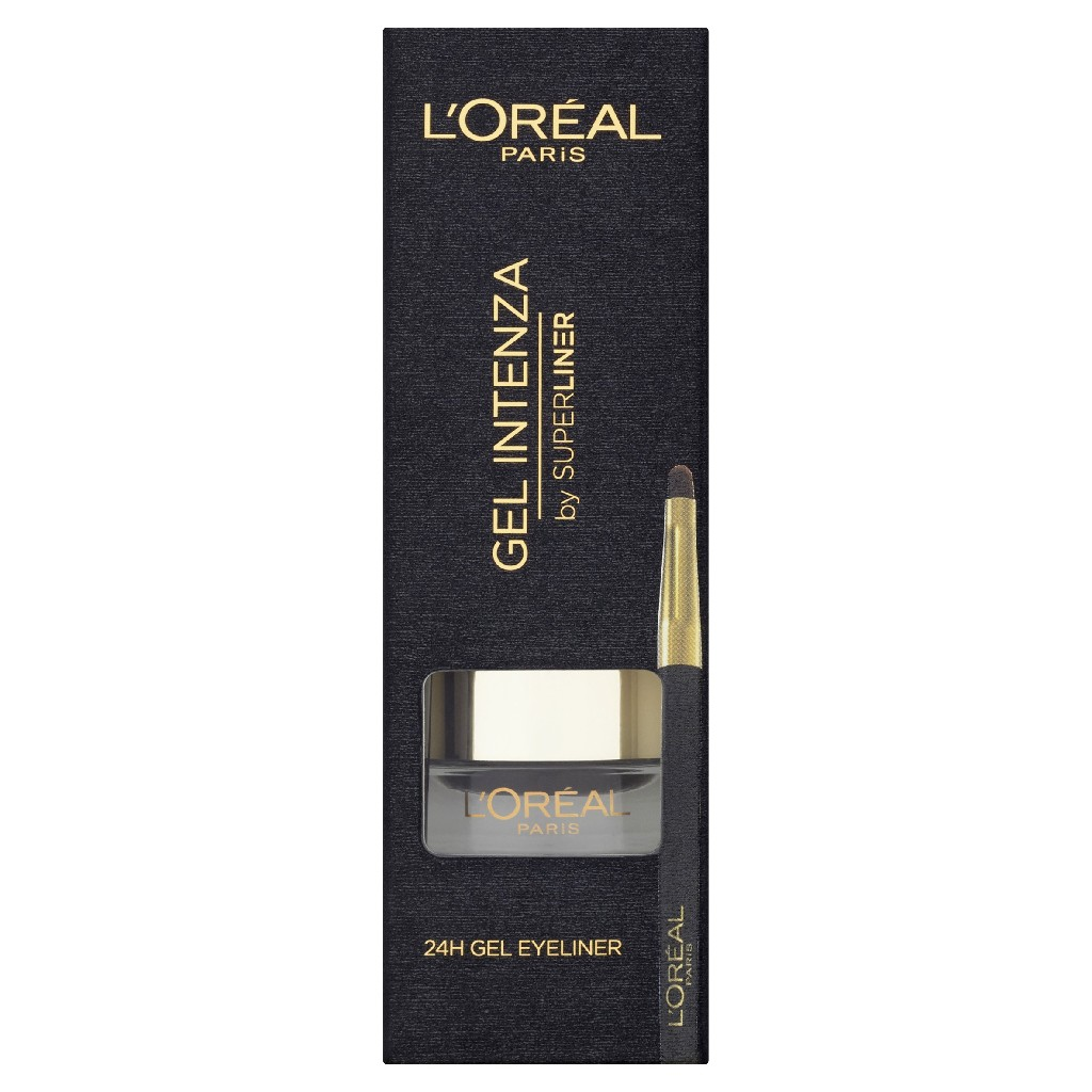 LOréal Paris Super Liner Gel Intenza 01 Pure Black szemhéjtus 2,8 g