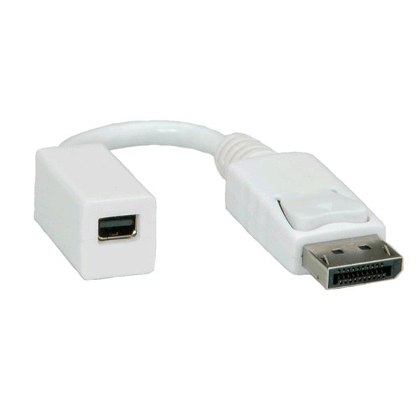 Roline DisplayPort --> mini DisplayPort M/F adapter  (12.03.3132-20)