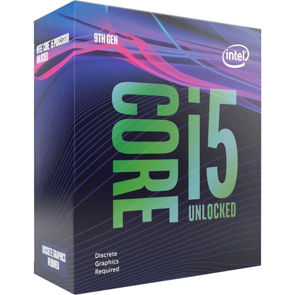 Intel Core i5-9600KF 3.7GHz Socket 1151 dobozos (BX80684I59600KF)