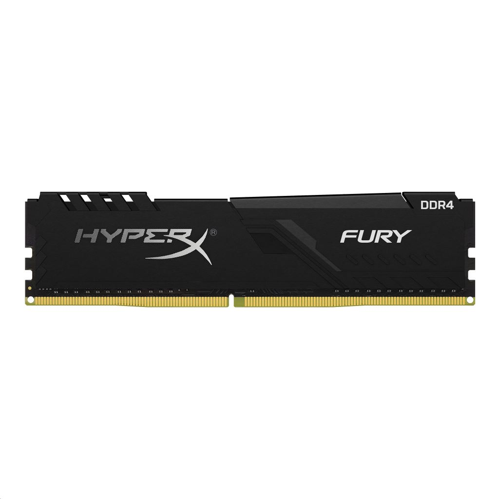 8GB 3000MHz DDR4 RAM Kingston HyperX Fury Black CL15 (2x4GB) (HX430C15FB3K2/8)