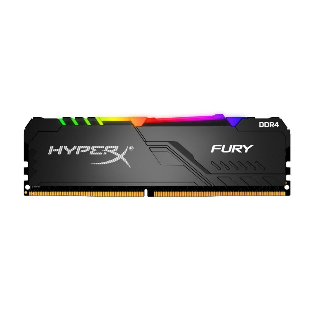 16GB 3200MHz DDR4 RAM Kingston HyperX Fury RGB CL16 (HX432C16FB3A/16)