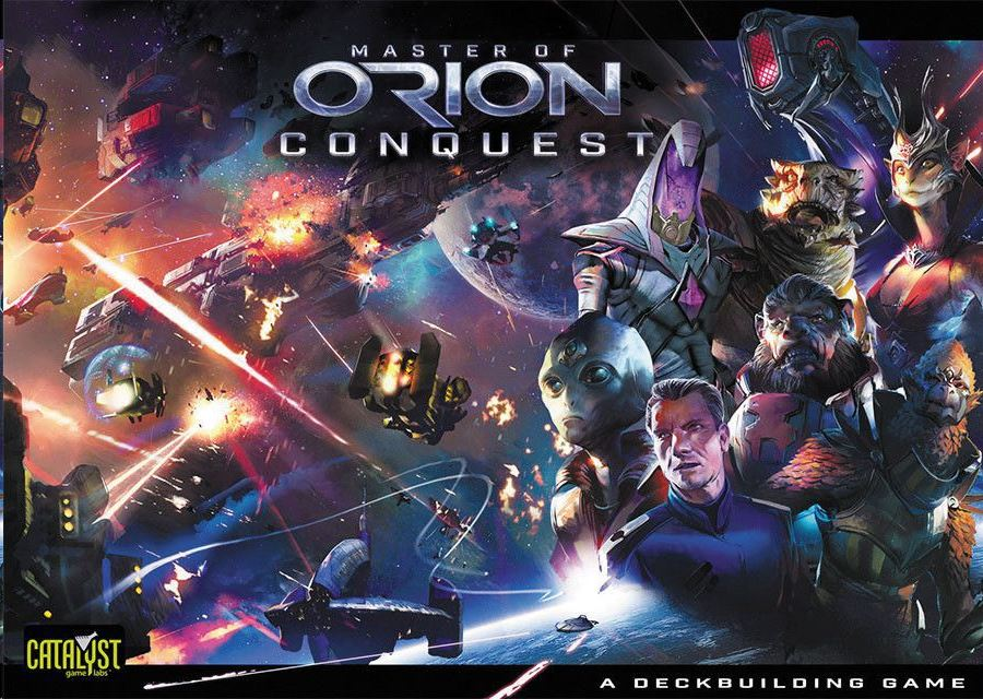 Master of Orion: Conquest társasjáték (GAM35832)
