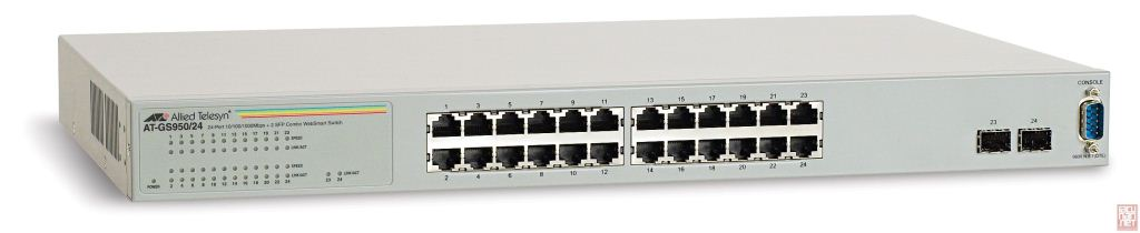 Allied Telesis AT-GS950/24-50 10/100/1000Mbps 26 portos switch