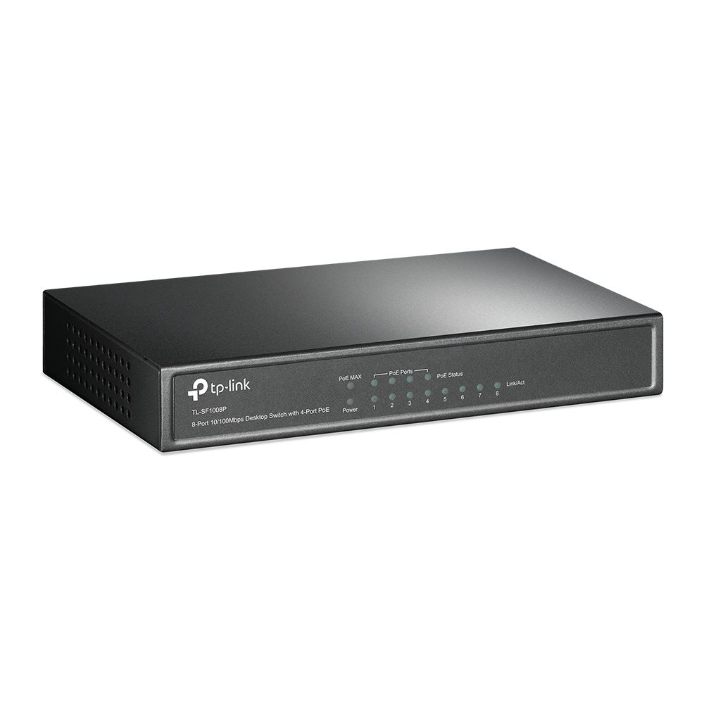 TP-Link TL-SF1008P 10/100Mbps 8 portos POE switch