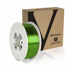 Verbatim PET-G filament 1.75mm, 1kg áttetsző zöld /55057/