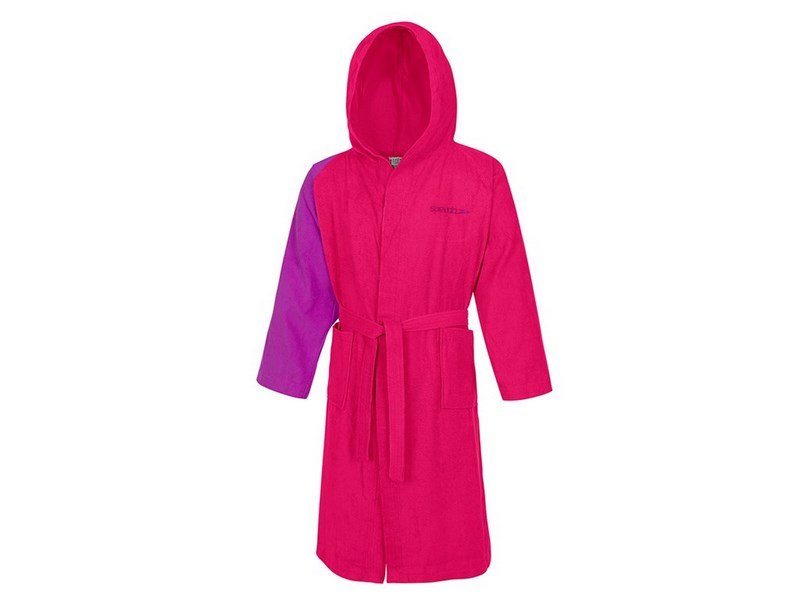 Speedo Bathrobe Microterry Unisex Köntös pink L