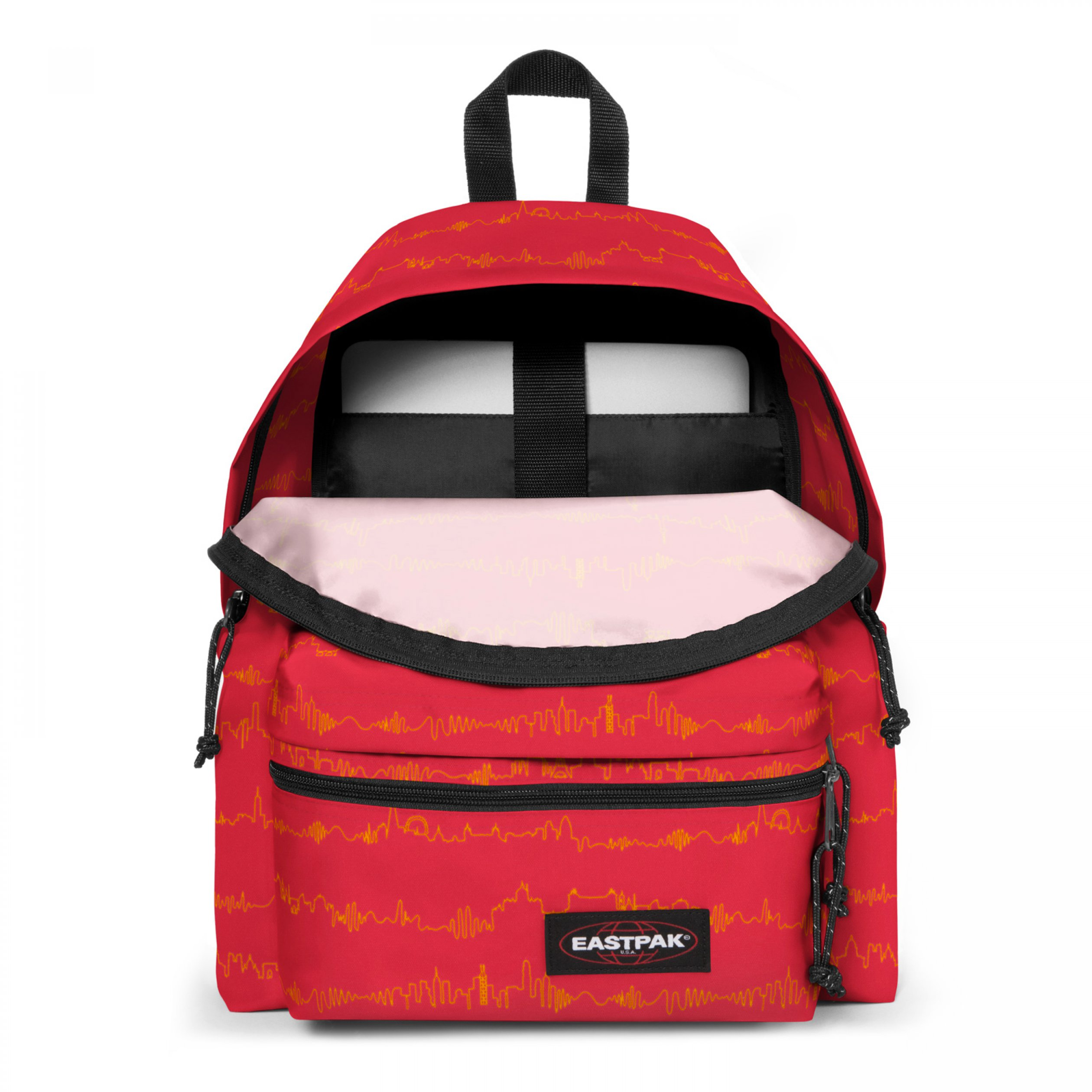 Eastpak PADDED ZIPPL'R City Beat Hátizsák piros NS