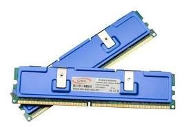 4GB 800MHz DDR2 RAM CSX + Metal cooler Xtreme (2x2GB) (CSXO-CEC-800-4GB-KIT)