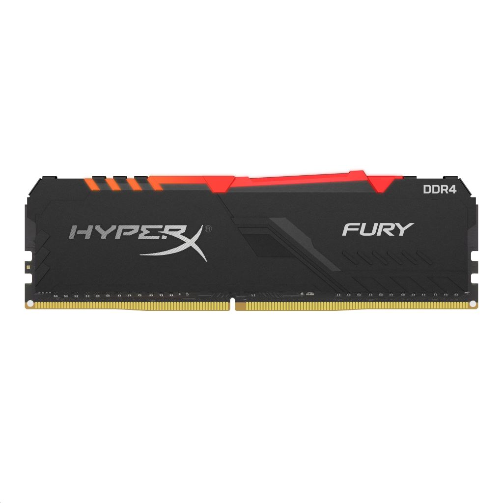 16GB 3733MHz DDR4 RAM Kingston HyperX Fury RGB CL19 (2x8GB) (HX437C19FB3AK2/16)
