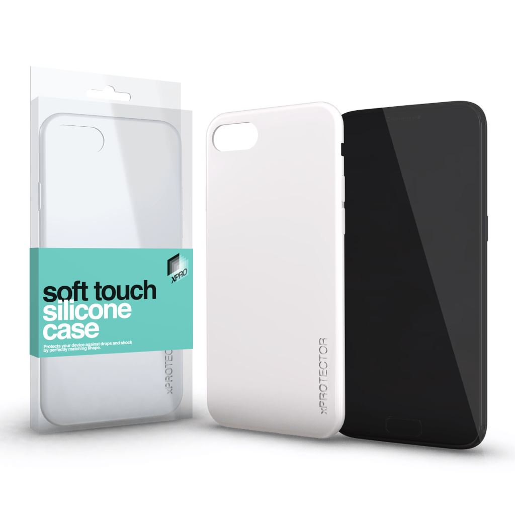 Xprotector Soft Touch Silicone Samsung Note 9 tok fehér (115248)