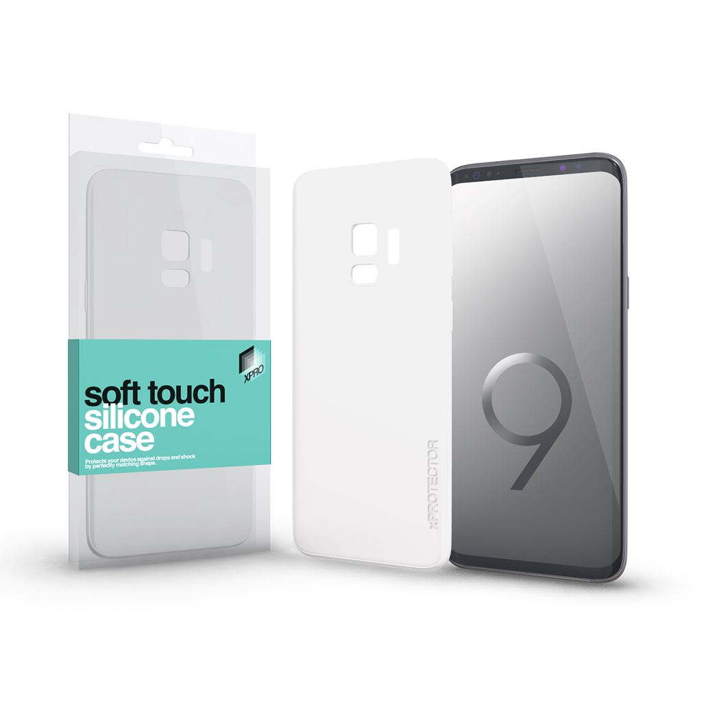 Xprotector Soft Touch Silicone Samsung S9 tok fehér (115454)
