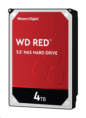 """4TB WD 3.5"""" SATA-III Red NAS winchester (WD40EFAX)"""