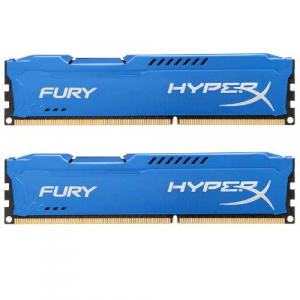 16GB 1600MHz DDR3 RAM Kingston HyperX Fury Blue Series CL10 Kit (2x8GB) (HX316C10FK2/16)