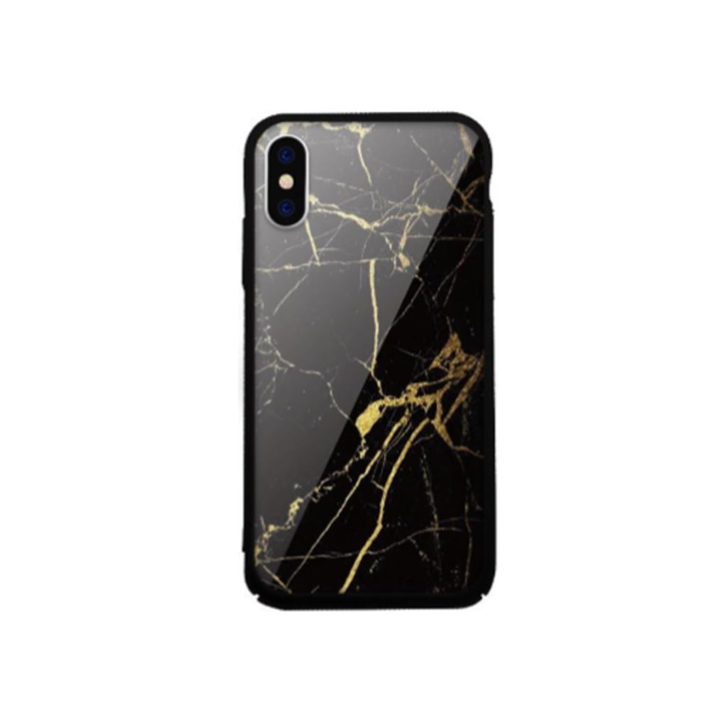Xprotector Samsung S9 Tempered Glass tok fekete (Marble) (117272)