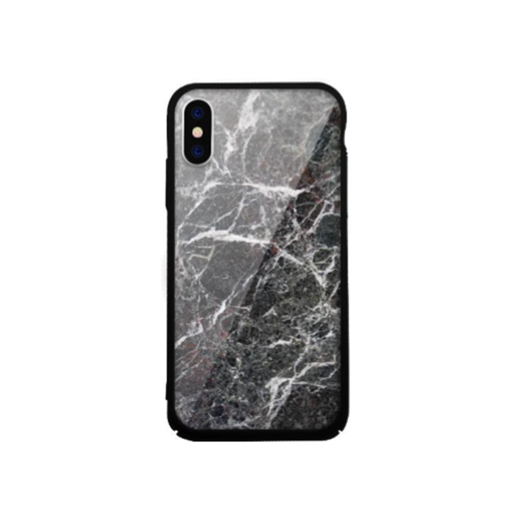 Xprotector Samsung S8+ Tempered Glass tok fekete (Rock) (117370)