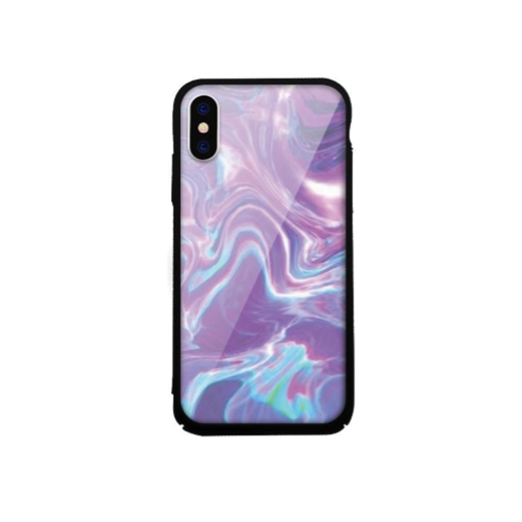 Xprotector Apple iPhone X/XS Tempered Glass tok lila (Rock) (117239)