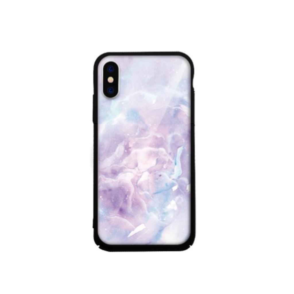 Xprotector Apple iPhone X/XS Tempered Glass tok lila (Stone) (117167)