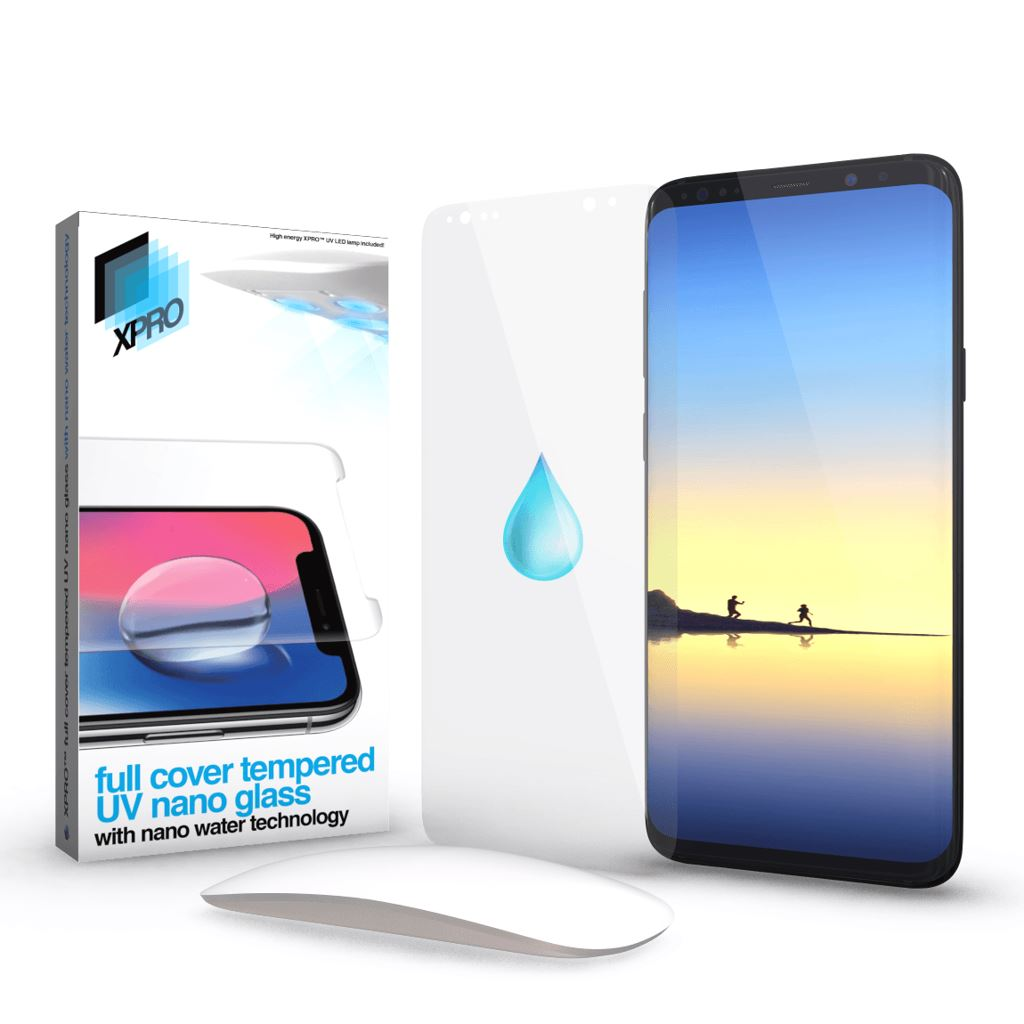 Xprotector Huawei P40 Pro Full Cover Tempered UV nano Glass kijelzővédő (119960)