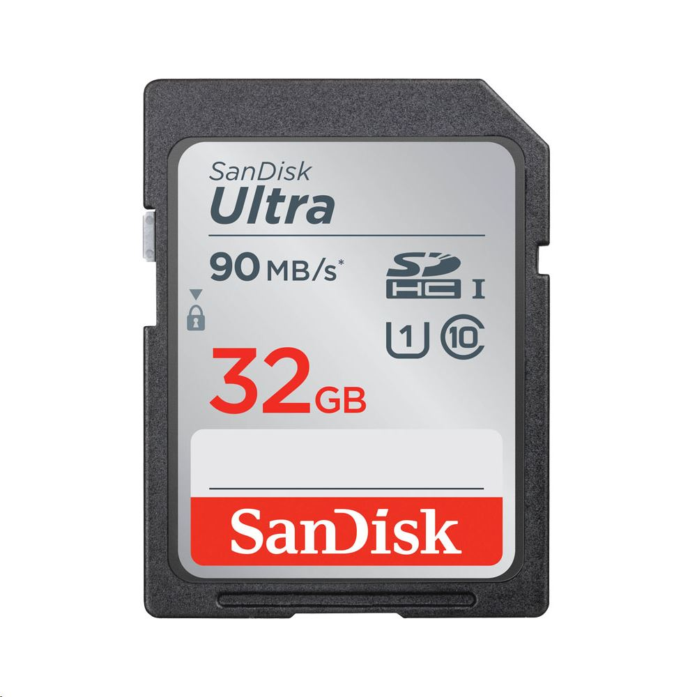 32GB SDHC Sandisk Ultra CL10 (186468)