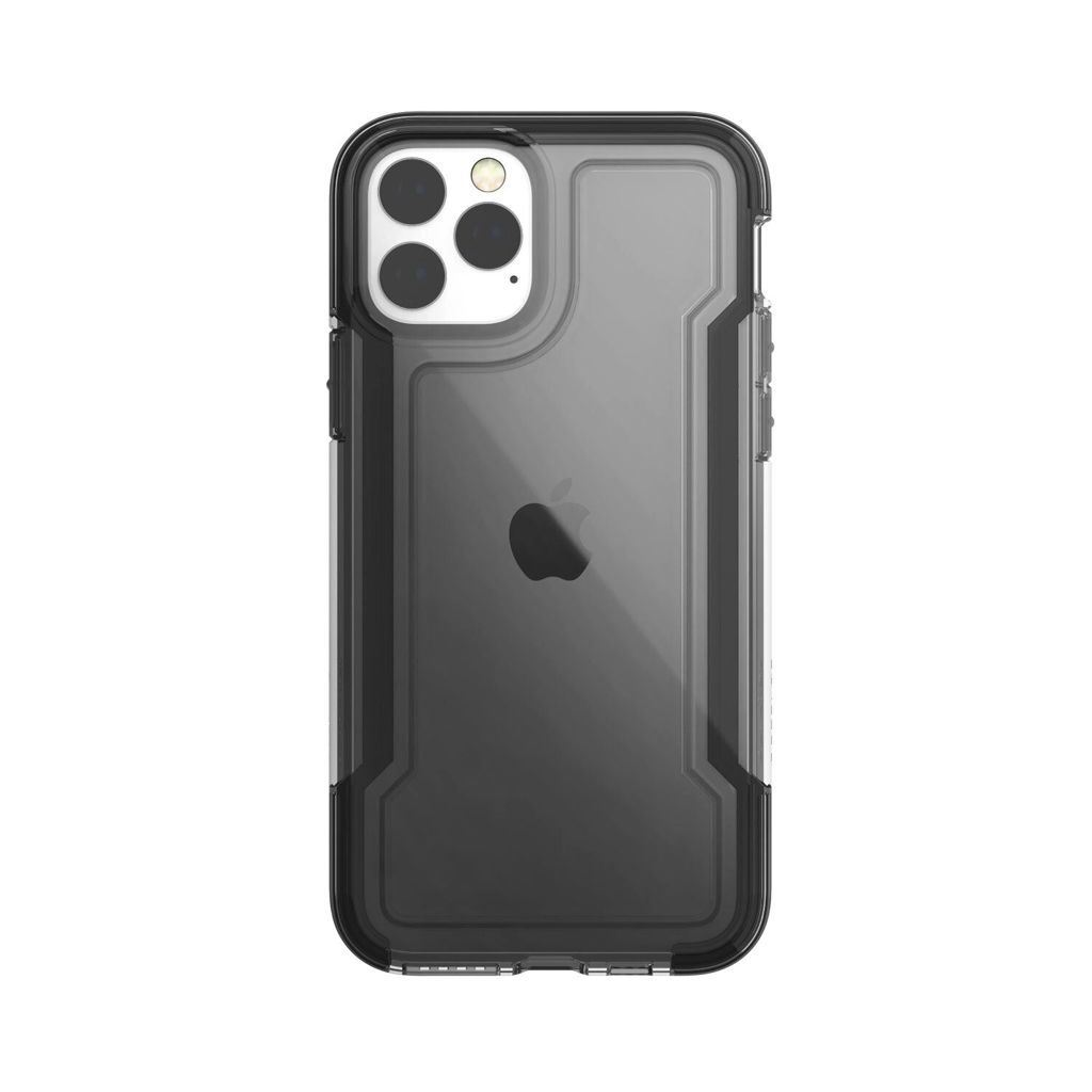 X-Doria Defense Clear Apple iPhone 11 Pro védőtok fekete-áttetsző (118944)