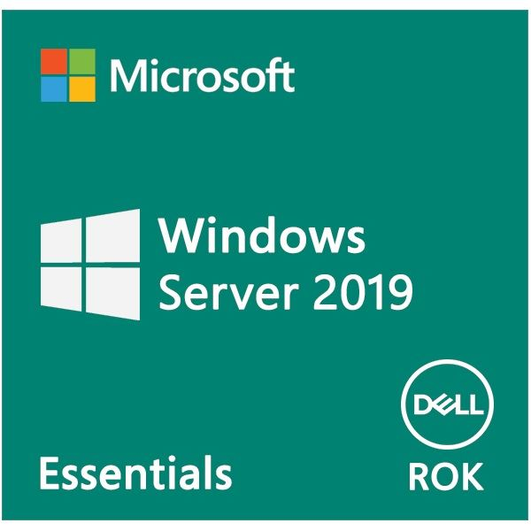 DELL EMC szerver OS - MS Windows Server 2019 Essentials Edition 64bit ROK - English (WEOS) (634-BSFZ)