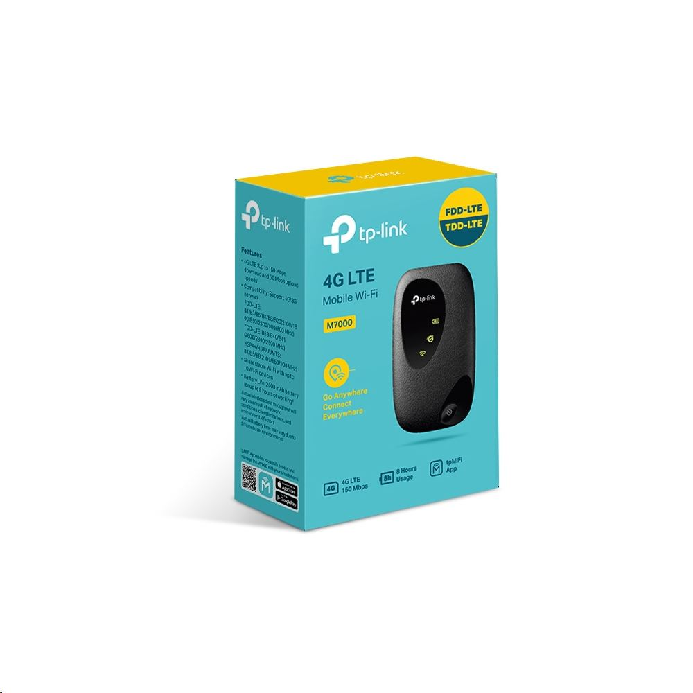 TP-Link M7000 4G Mobile WiFi Router
