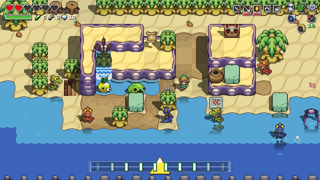 Cadence of Hyrule: Crypt of the NecroDancer (Switch)