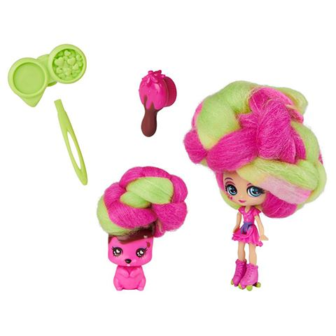 Spin Master Candylocks: Straw-Carrie Mudslide és Squeaky Squirrel baba (6056250/20123506)