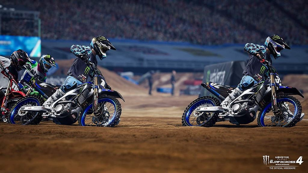 Monster Energy Supercross - The Official Videogame 4 (PS4)