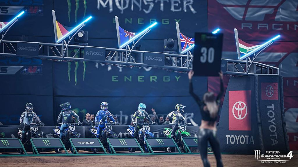 Monster Energy Supercross - The Official Videogame 4 (Xbox Series X/S)