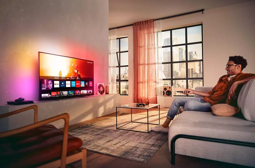 """Philips 55PUS7805/12 55"""" 4K UHD LED Android TV"""