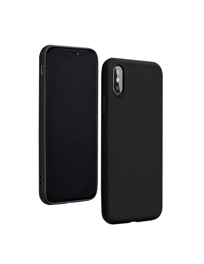 Forcell Silicone Lite Apple iPhone 12/12 Pro tok fekete (51034)